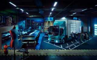 Представлена новая электрическая модель грузовика от Volvo
