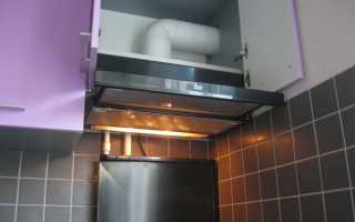 Вытяжки для кухни с отводом в вентиляцию: виды, подключение