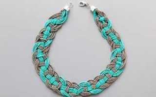 Схема плетения из бисера ожерелья Маркизы