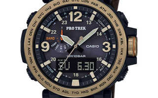 Умные часы Casio ProTrek Smart F-20: обзор возможностей