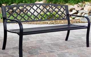 Удобная и качественная скамейка своими руками