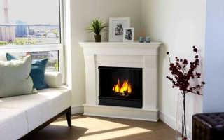 Настенный электрокамин для квартиры: как выбрать и установить