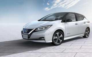 Новый автомобиль компании Nissan – Leaf