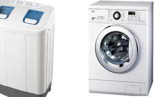 Стиральная машина полуавтомат: отличия, типы, обслуживание и ремонт