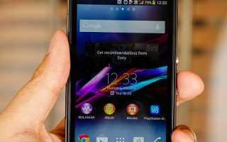 Обзор Sony Xperia z1 Compact: характеристики, дизайн, камера