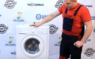 Как разобрать барабан стиральной машины Индезит: инструкция