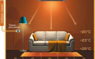 Карбоновый инфракрасный обогреватель: принцип работы, конструкция, как выбрать