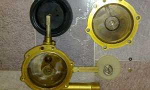 Замена мембраны в газовой колонке