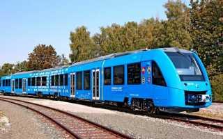 Создан поезд, работающий на водородном топливе