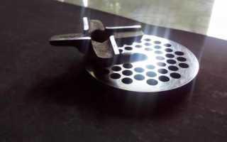 Как правильно наточить нож для мясорубки в домашних условиях