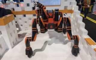 Создан четвероногий робот, способный перемещаться по неровным поверхностям