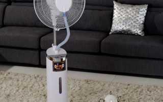 Как собрать напольный вентилятор: инструкция, видео