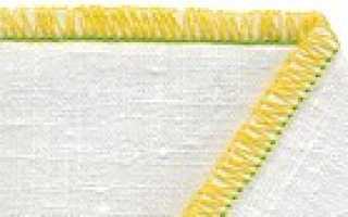 Виды швов оверлока: классические, декоративные