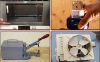 Что можно сделать из старой микроволновки своими руками
