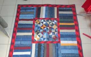 Различные схемы пэчворк стежек для шитья