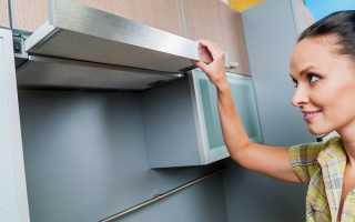 Как очистить вытяжку на кухне от жира: способы чистки решетки