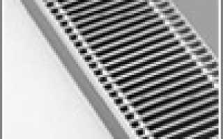 Водяные конвекторы отопления: напольные, встраиваемые в пол, настенные