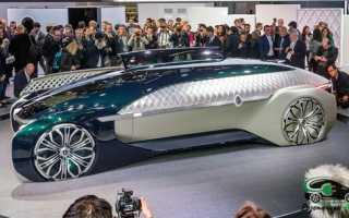 Французский автоконцерн Renault представил электрический беспилотник Ez-Ultimo