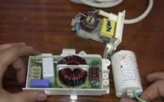 Сетевой фильтр для стиральной машины: для чего нужен, как прозвонить