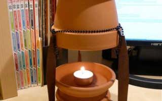 Обогреватель из свечи: внешний вид, применение, инструкция по созданию