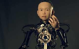 Новый робот от Хироси Исигуро сделан на основе прообраза 10-летнего ребенка