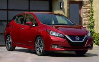 В России появится электромобиль Nissan Leaf нового поколения