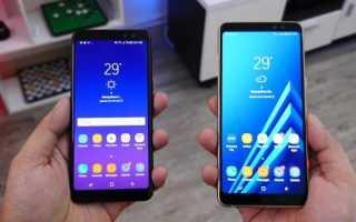 Samsung Galaxy A6 : обзор характеристик и возможностей смартфона