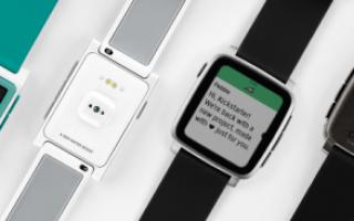 Умные часы Pebble Time: внешний вид, характеристики, функции, цена