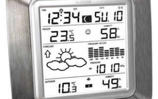 Цифровая метеостанция для дома: лучшие модели