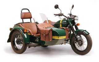 Создан мотоцикл Урал повышенной комфортности
