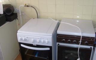 Какой выбрать гибкий шланг для подключения газовой плиты