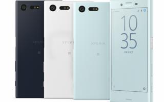 Обзор Sony Xperia X Compact: характеристики и возможности смартфона