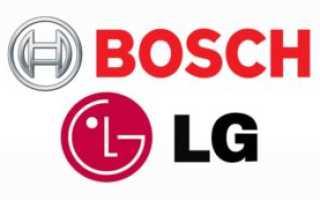 Какая стиральная машина лучше LG или Bosch?