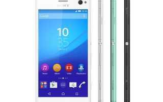 Sony Xperia C4: обзор характеристик и возможностей смартфона