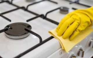 Как и чем очистить газовую плиту от жира и нагара в домашних условиях
