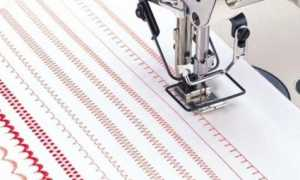 Какие бывают виды строчек на швейной машине