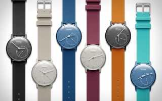 Умные часы Withings Activity Pop и Steel HR: дизайн и возможности