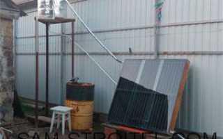 Как сделать солнечный водонагреватель своими руками?