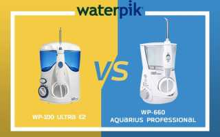 Обзор ирригатора Waterpik WP 100