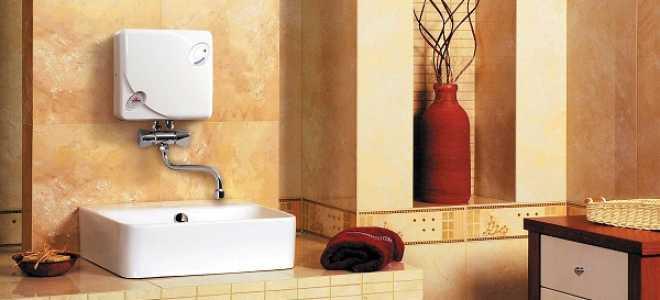Устройство и принцип работы проточного водонагревателя