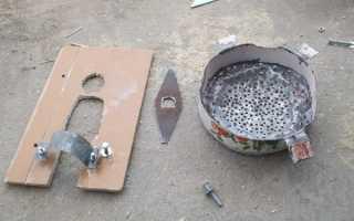 Как сделать из болгарки зернодробилку и измельчитель веток своими руками