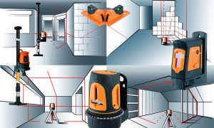Проверка и настройка лазерного, электронного, пузырькового уровня