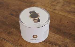 2 поколение Motorola Moto 360: дизайн, характеристики, возможности, цена