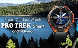 Обзор умных часов Casio Smart Outdoor Watch WSD-F10: дизайн, функции, цена