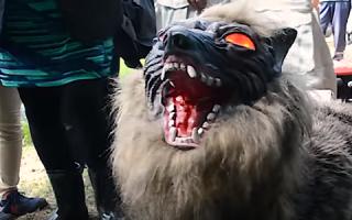 Уникальный робот-волк от японских ученых