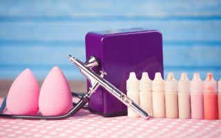 Аэрограф для макияжа лица и тела: что это такое, как выбрать и пользоваться