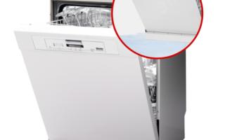 Посудомоечная машина течет из-под дверцы: устранение неполадок