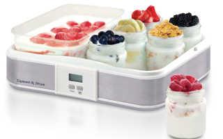 Как правильно выбрать лучшую йогуртницу?