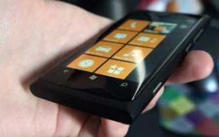 Обзор Нокиа Люмия 800: характеристики смартфона, дизайн, цена